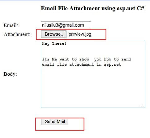 how to send a pdf file by email