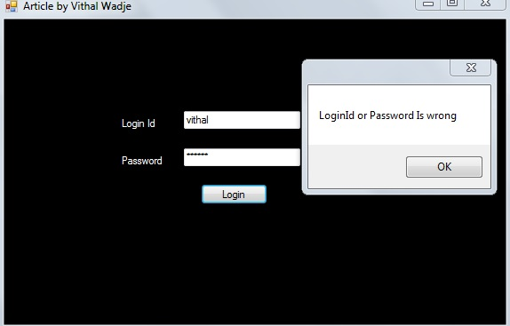 how to create login page in asp net using c#