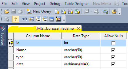 Uploading And Downloading Excel Files From Database Using ASP.NET C#