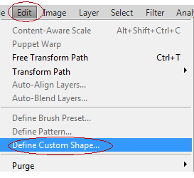 how to create shapes in photoshop