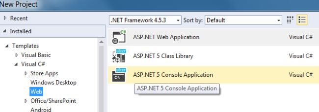 ASP.NET 2015 library