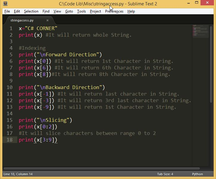 how to return a part of string in python