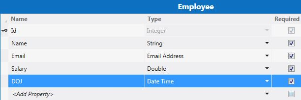 Select DOB from Employee