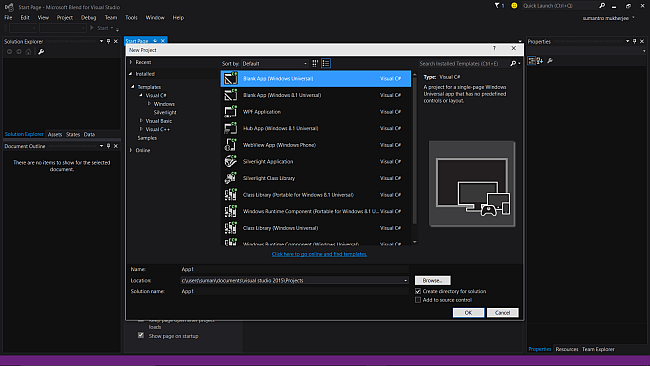 how to build a package for windows store upload