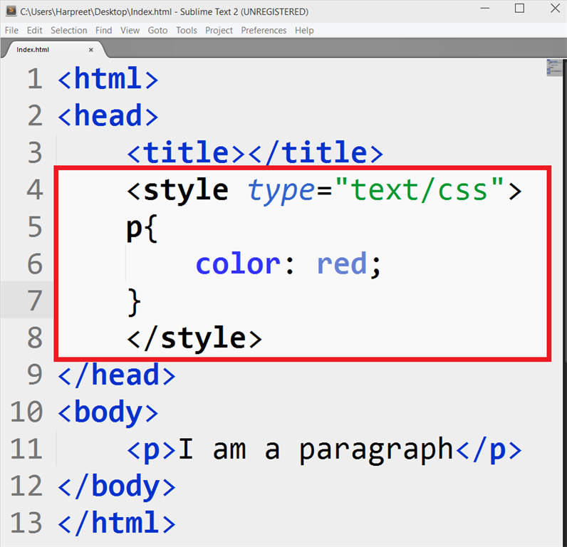 how to make text color in html