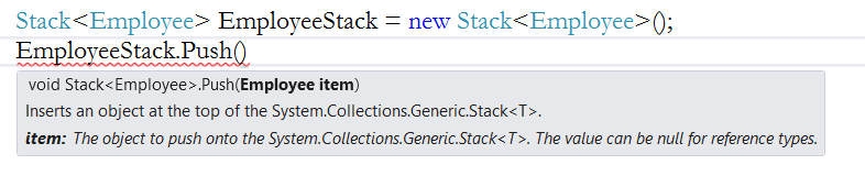 Queue And Stack Collection Classes In C#