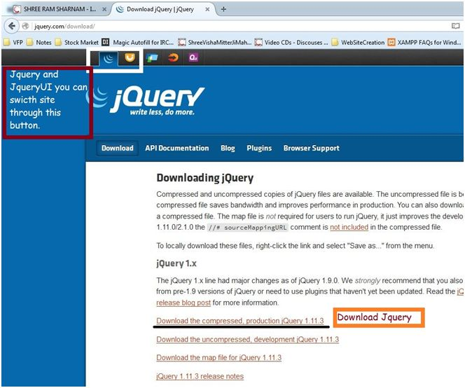 Download Jquery