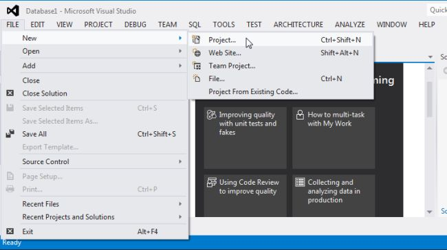 Installation of Business Intelligence in Visual Studio 2012