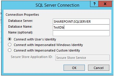 Enter the Credentials to SQL Server