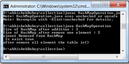 how to clear hashtable in java