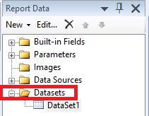 Create a new Datasets