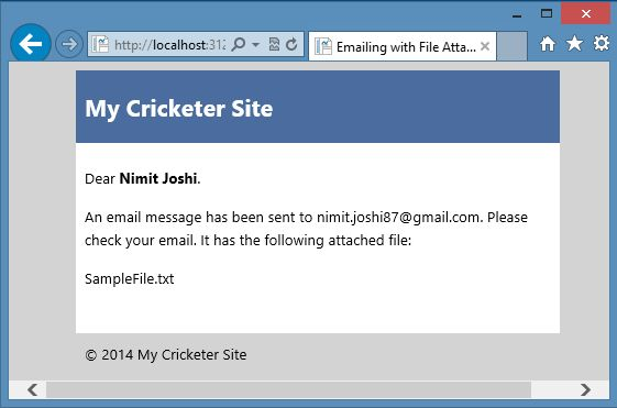 how to send email with attachment in asp net web pages 2