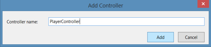 Specifying Controller Name