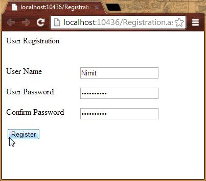 Register New User