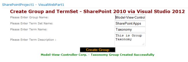 how to create group in sharepoint 2013 programmatically