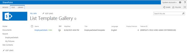 Backup and Restore Lists in SharePoint 2013
