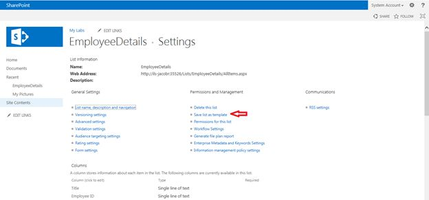 Backup And Restore Lists In SharePoint - Backup and restore procedures template