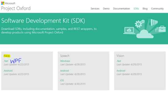 Build A Windows Phone And Store App For Project Oxford Face API