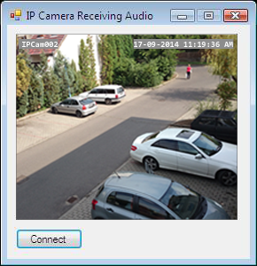 How to implement Camera Viewer (video audio streaming) in C#