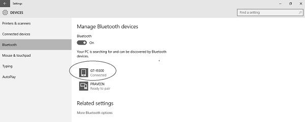 how to connect bluetooth to laptop windows 7
