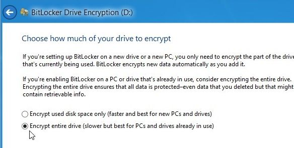 how to open encrypted files on flash drive