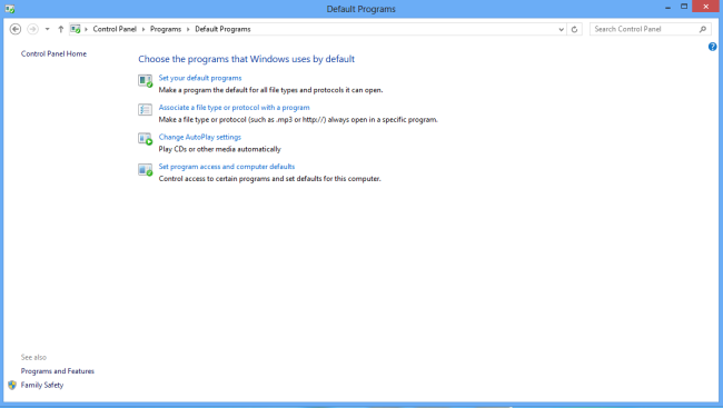 how to change browser on windows 8