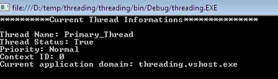 Multithreading with .NET