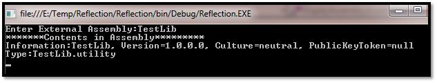 Reflection in C#