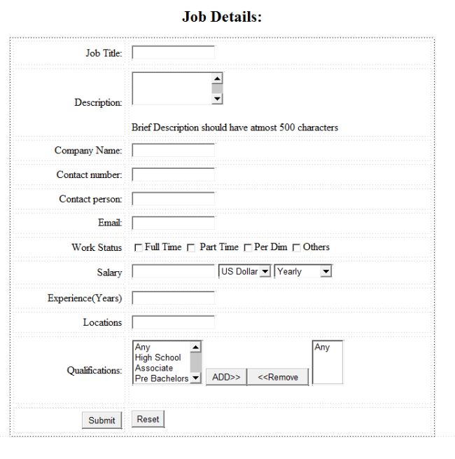 Create a form using html tables - Html code for creating table ...