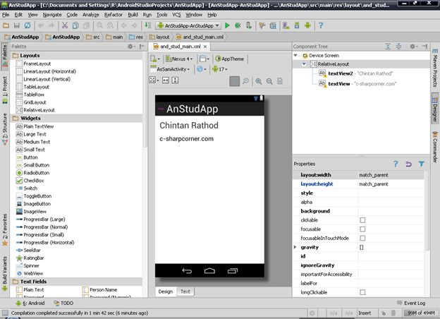 Android Studio Can T Find Design View