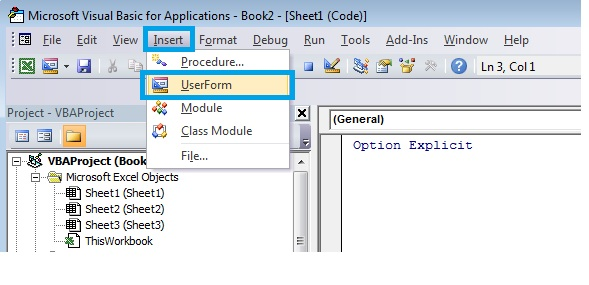 How To Perform Validation In User Form Using Visual Basic For