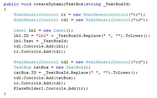 how to create dynamic website in asp net c#