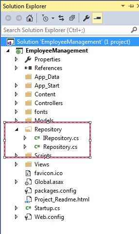 ASPNET MVC Code First Approach With Repository Pattern Impressive C Repository Pattern