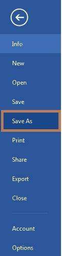 save a document as a template in word 2013