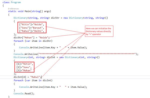 List of All New Features in C# 6.0: Part 1