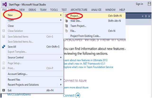 c visual studio web application