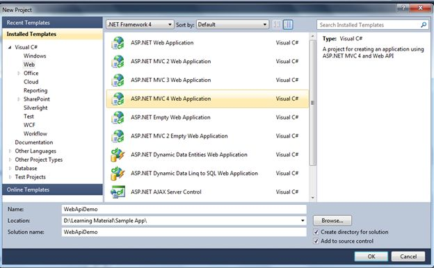 Configuration Over Convention in WebApi Using MVC4 Template