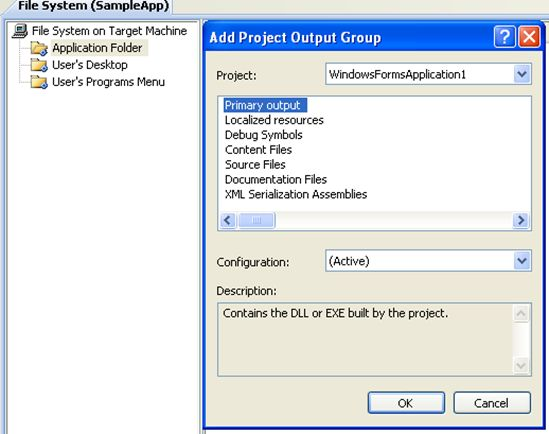Writing a c program in visual studio 2005 publish website