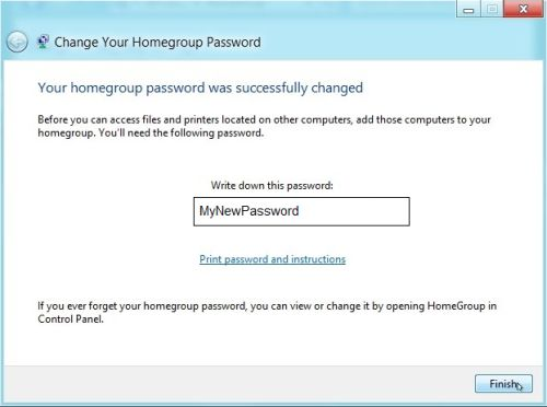 how to change email password in windows 8
