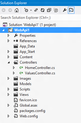 how to create web api in mvc 4