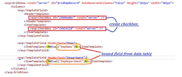 Gridview Checkbox Check And Uncheck Using jQuery In ASP NET