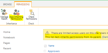 How To Set Item Level Permission In SharePoint List / Library