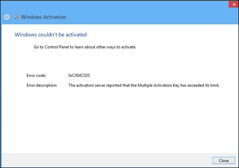 what does a windows activation key look like