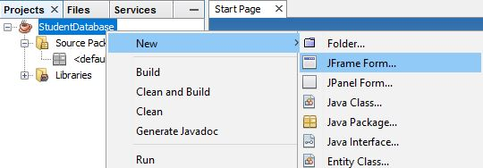 Insert, Update And Delete Record In Java