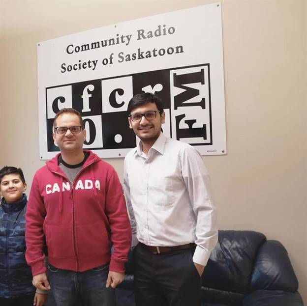 Saskatchewan Chapter Lead Interview At 'The Voice Of Saskatoon'