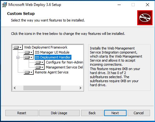 How To Install Web Deploy For Hosting Servers On Windows Server 2016