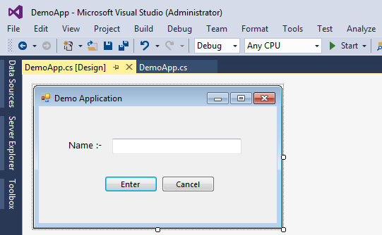 Validating user input in windows forms applications