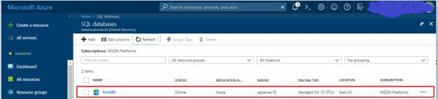 Deploy Database From Local To Azure Using Deploy Database To SQL Azure Option In SQL Server