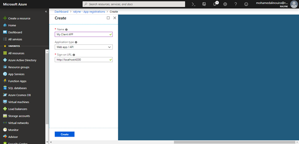 Azure Active Directory - Create Applications, Add Scopes And Add API Access