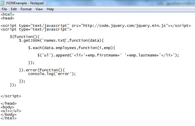 How to import data from a json file and parse it JavaScript to ...